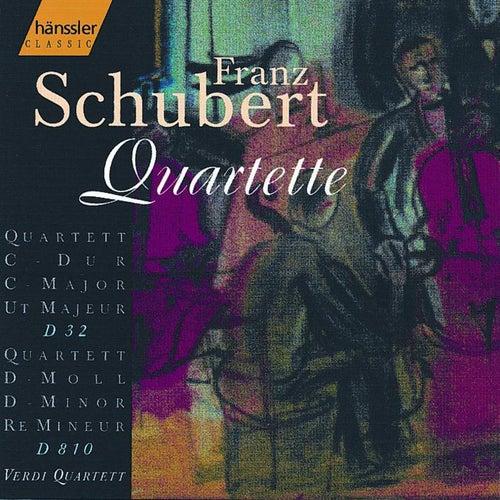 String Quartet in D Minor D810 / String Quartet in C Major D32 by Verdi Quartett