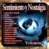 Sentimientos y Nostalgia, Vol. 3 by Various Artists
