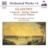 Carnaval / Spring / Salomé / Waltzes de Alexander Glazunov