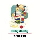 Sitting Knitting by Odetta