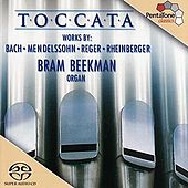 Toccata - 200 Years Of German Organ Music by Bram Beekman