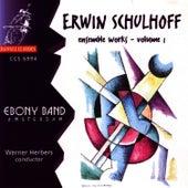 Schulhoff: Ensemble Works Vol 1 by Ebony Band