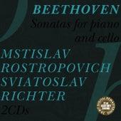 Beethoven: Sonatas for Cello and Piano de Mstislav Rostropovich