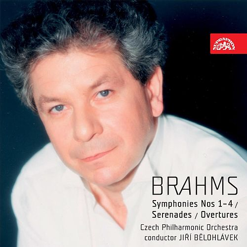 Brahms: Symphonies Nos 1-4, Serenades, Overtures Academic and Tragic, Variations on a Theme by Haydn by Czech Philharmonic Orchestra