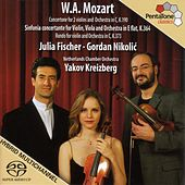 MOZART: Sinfonia concertante, K. 364 / Concertone in C major, K. 190 / Rondo in C major, K. 373 von Julia Fischer