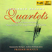 BRAHMS: Quartets for 4 Voices and Piano by Andreas Rothkopf