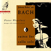 J.S. Bach: Suites for Cello solo vol 1 by Pieter Wispelwey