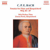 Sonatas for Flute and Harpsichord von Carl Philipp Emanuel Bach