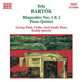 Rhapsodies Nos. 1 and 2 by Bela Bartok