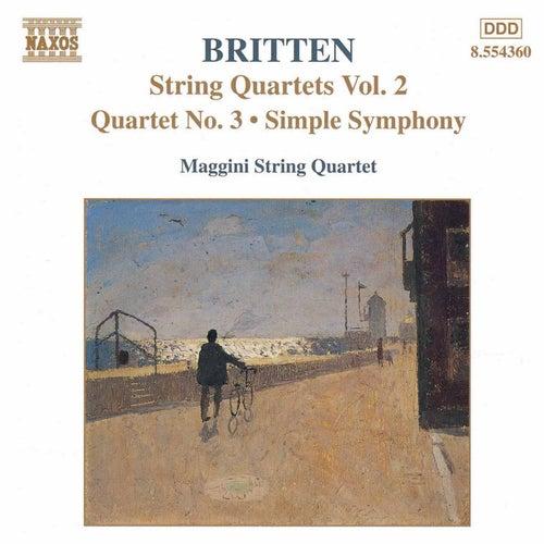String Quartets Vol. 2 by Benjamin Britten