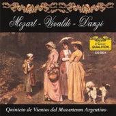 Mozart - Vivaldi - Danzi von Quinteto De Vientos Del Mozarteum Argentino