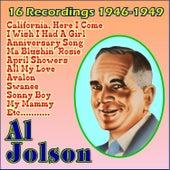 16 Recordings 1946-1949 by Al Jolson