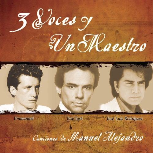 3 Voces Y Un Maestro by Various Artists