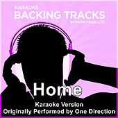 Home (Originally Performed By One Direction) [Karaoke Version] by Paris Music