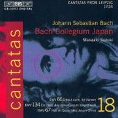 BACH, J.S.: Cantatas, Vol. 18 (BWV 66, 134, 67) by Masaaki Suzuki