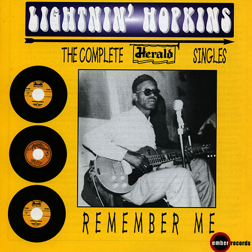 Remember Me by Lightnin' Hopkins
