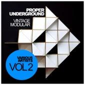 Proper Underground, Vol. 2: Vintage Modular - EP de Various Artists