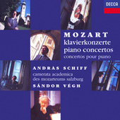 Mozart: The Piano Concertos by András Schiff