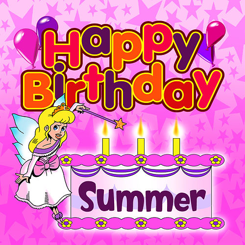 happy birthday summer Happy Birthday Summer by The Birthday Bunch happy birthday summer