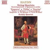 String Quartets: Emporer / Fifths / Sunrise by Franz Joseph Haydn