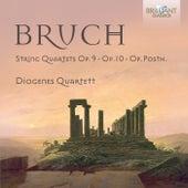 Bruch: Complete String Quartets by Diogenes Quartet