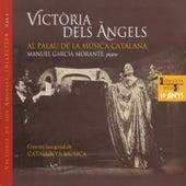 Victòria dels Àngels  Al Palau de la Música Catalana de Victoria de los Ángeles - Manuel García Morante