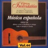 Clásicos Inolvidables Vol. 44, Música Española de Various Artists