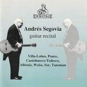 Andres Segovia Guitar Recital de Various Artists