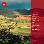 Copland: Appalachian Spring; Billy the Kid; Rodeo: Classic Library Series de Michael Tilson Thomas
