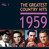 The Greatest Country Hits of 1959, Vol. 1 de Various Artists