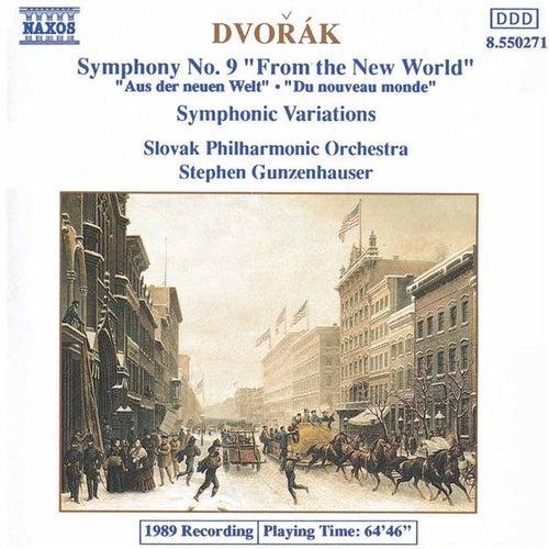 Symphony No. 9 / Symphonic Variations by Antonin Dvorak