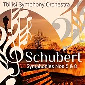 Schubert: Symphonies Nos. 5 & 8 by Tbilisi Symphony Orchestra