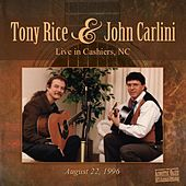 Tony Rice & John Carlini Live de Tony Rice