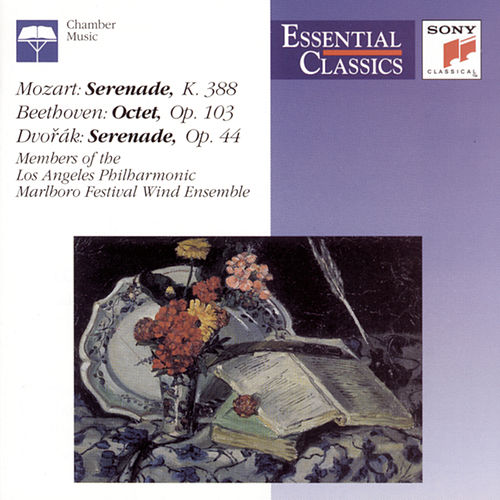 Mozart: Serenade K.388; Beethoven: Octet Op.103; Dvorák: Serenade Op.44 by Various Artists