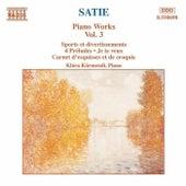 Piano Works Vol. 3 by Erik Satie