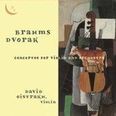 Brahms & Dvořák: Violin Concertos by David Oistrakh