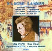 Mozart: Sonatas for Violin & Piano, K. 378 & 379 by Oleg Kagan