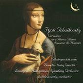Tchaikovsky: Variations on a Rococo Theme, Op. 33 & Souvenir de Florence, Op. 70 de Various Artists