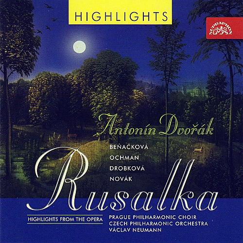 Dvořák: Rusalka - highlights / Various by Czech Philharmonic Orchestra