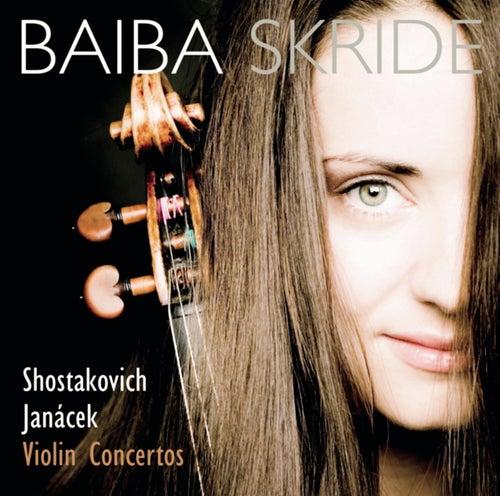 Shostakovich/Janacek: Violinkonzerte by Baiba Skride
