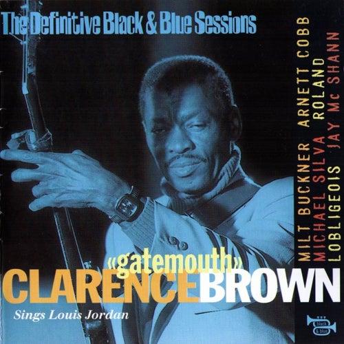 Sings Louis Jordan by Clarence 'Gatemouth' Brown
