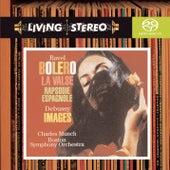 Ravel: Boléro; La Valse; Rapsodie espagnole; Debuissy: Images for Orchestra von Charles Munch