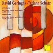 Brahms: Cello Sonata No. 1 in E Minor, Op. 38 / Cello Sonata No. 2 in F Major, Op. 99 / Sechs Lieder by David Geringas