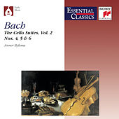 Bach:  Suites for Violoncello, Vol. 2 by Anner Bylsma