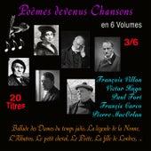 Poèmes devenus chansons, vol. 3 (20 titres) de Various Artists