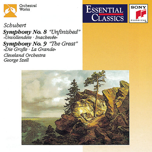 Schubert: Symphonies No. 8 'Unfinished'  and No. 9 'The Great' by Cleveland Orchestra