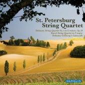 Debussy & Ravel: String Quartets by St. Petersburg String Quartet