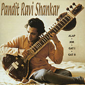 Pandit Ravi Shankar by Alla Rakha