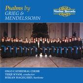 Mendelssohn & Grieg: Psalms by Håkan Hagegård