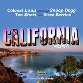 California (Remix) [feat. Too $hort, Snoop Dogg & Ricco Barrino] - Single de Colonel Loud
